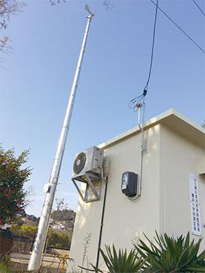 大気汚染局舎設置工事