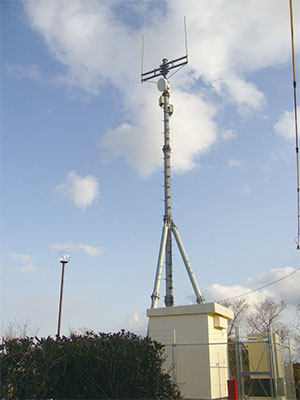260MHz防災無線中継局