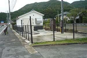 マンホ-ルポンプ(萩市)