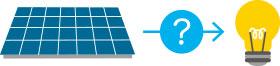 太陽電池が発電するしくみ